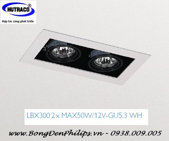 Bộ đ 232 N Downlight 226 M Trần Philips Lbx300 2xmax50w 12v Gu5 3