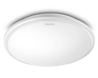 Đèn ốp trần LED Philips 31825 Twirly 65K LED WHT 17W