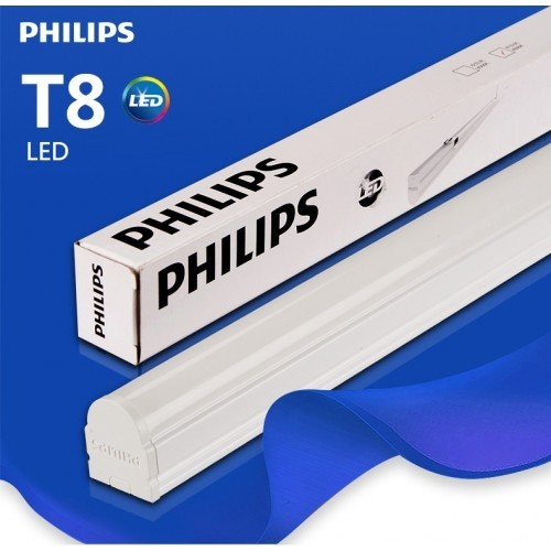 Bộ máng đèn LED T8 Philips 1m2 BN016C LED16/NW L1200 GM 16W