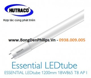 Bóng đèn ESSENTIAL LEDtube Philips 1200mm 18W /865 T8 AP I