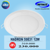 Đèn Downlight âm trần LED Philips Hadron 59831 12W